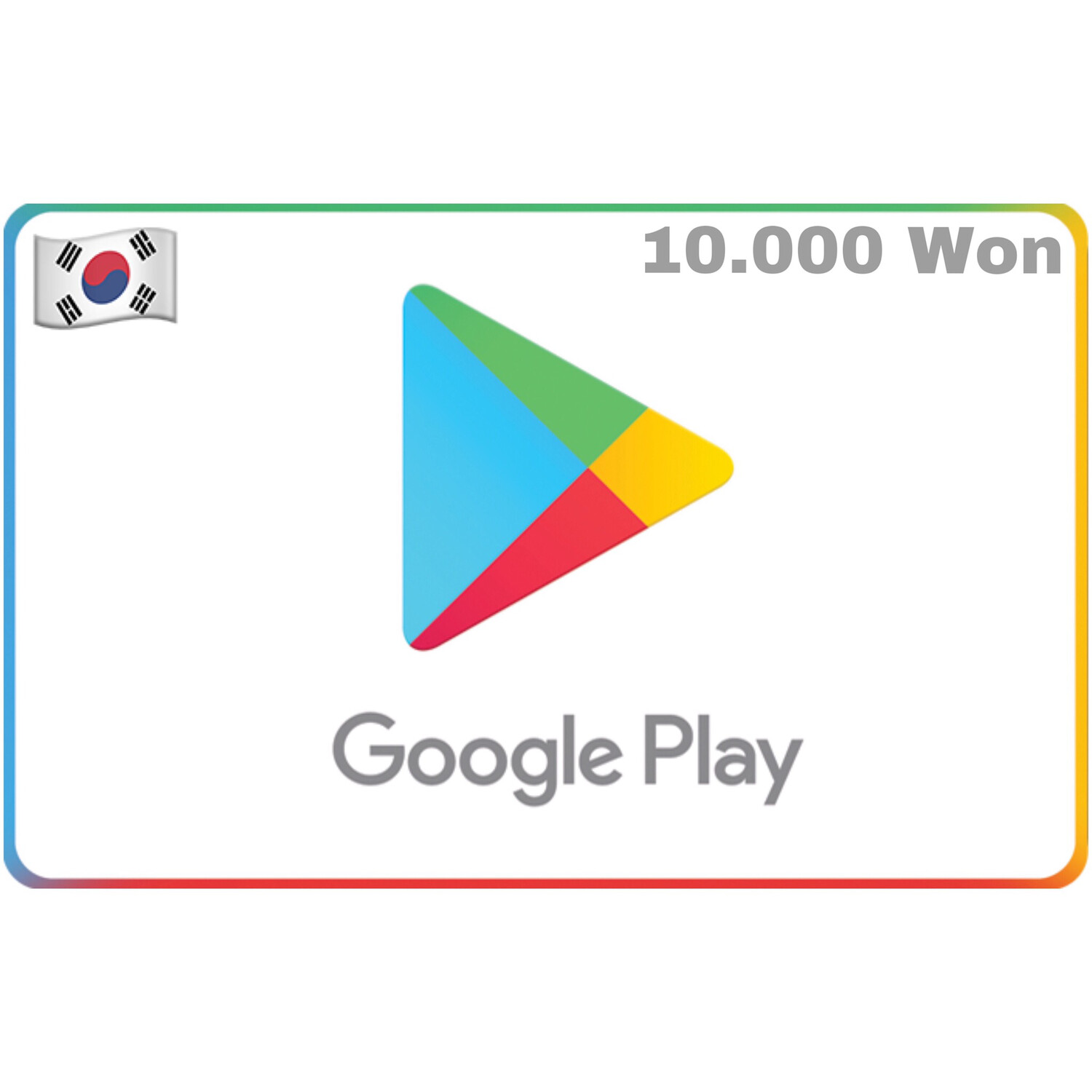 Google Play Korea 10,000 Won