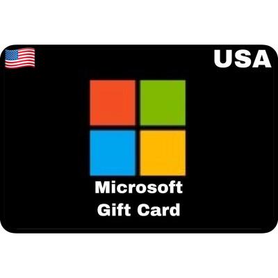 Microsoft Gift Card Digital Code