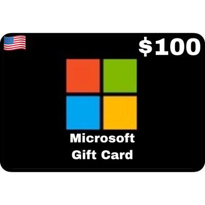 Microsoft Gift Card $100 Digital Code