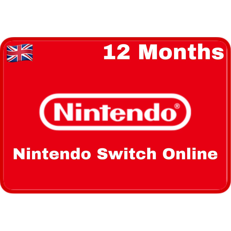 Nintendo Switch Online 12 Months UK Individual Membership