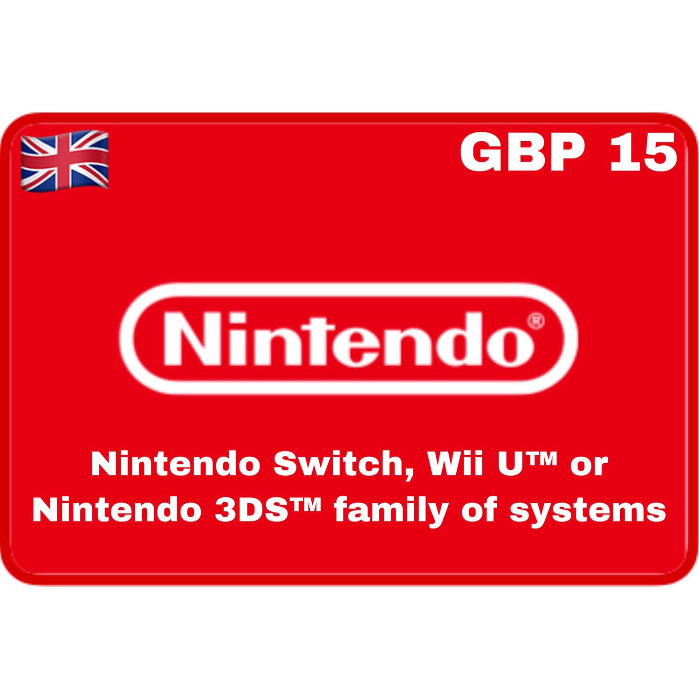 Nintendo eShop UK £15