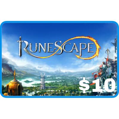 Runescape $10 Gift Card