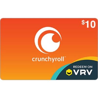 VRV $10 Crunchyroll Gift Card