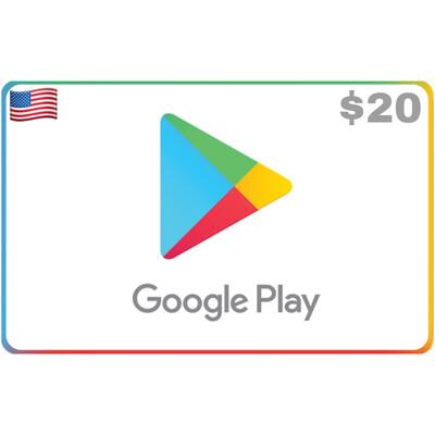 Google Play USA $20 (Gift Code)