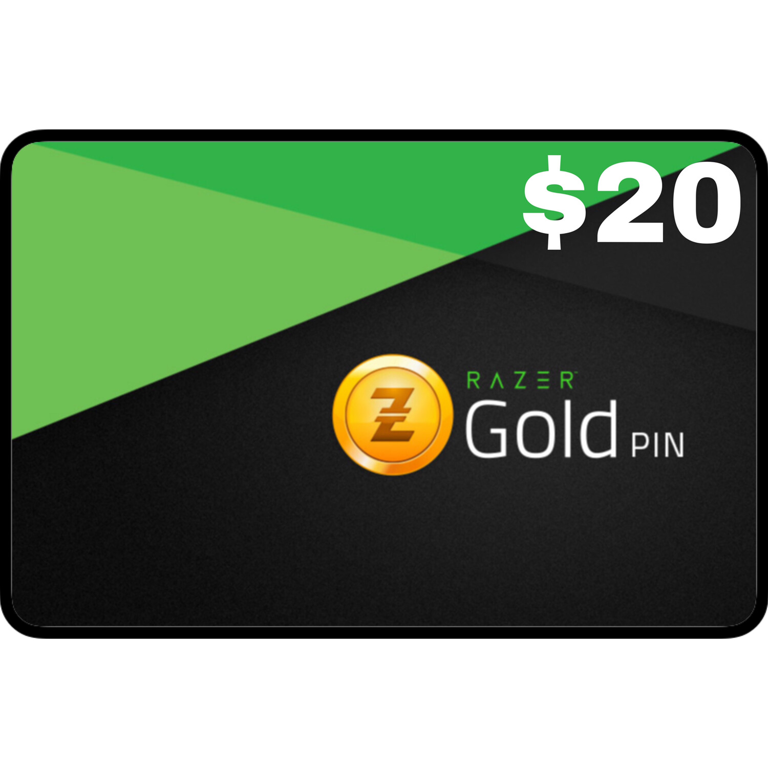 Razer Gold Pin $20 Global