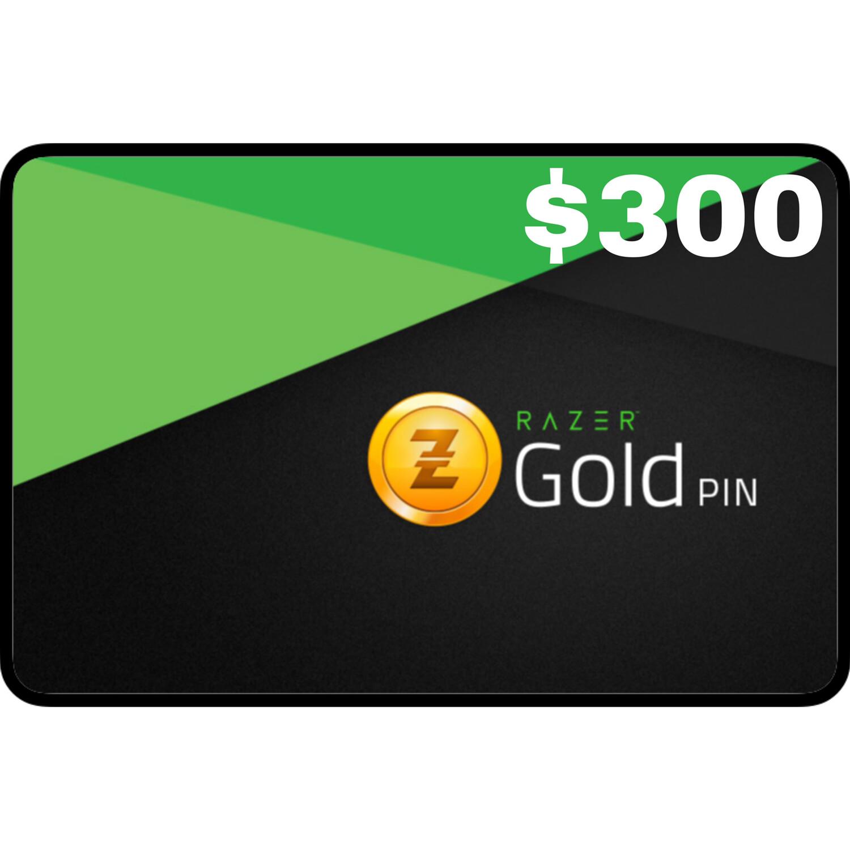 Razer Gold Pin $300