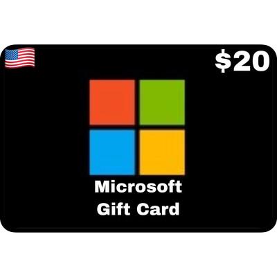 Microsoft Gift Card $20 Digital Code