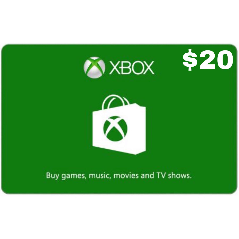 Xbox Gift Card USD $20