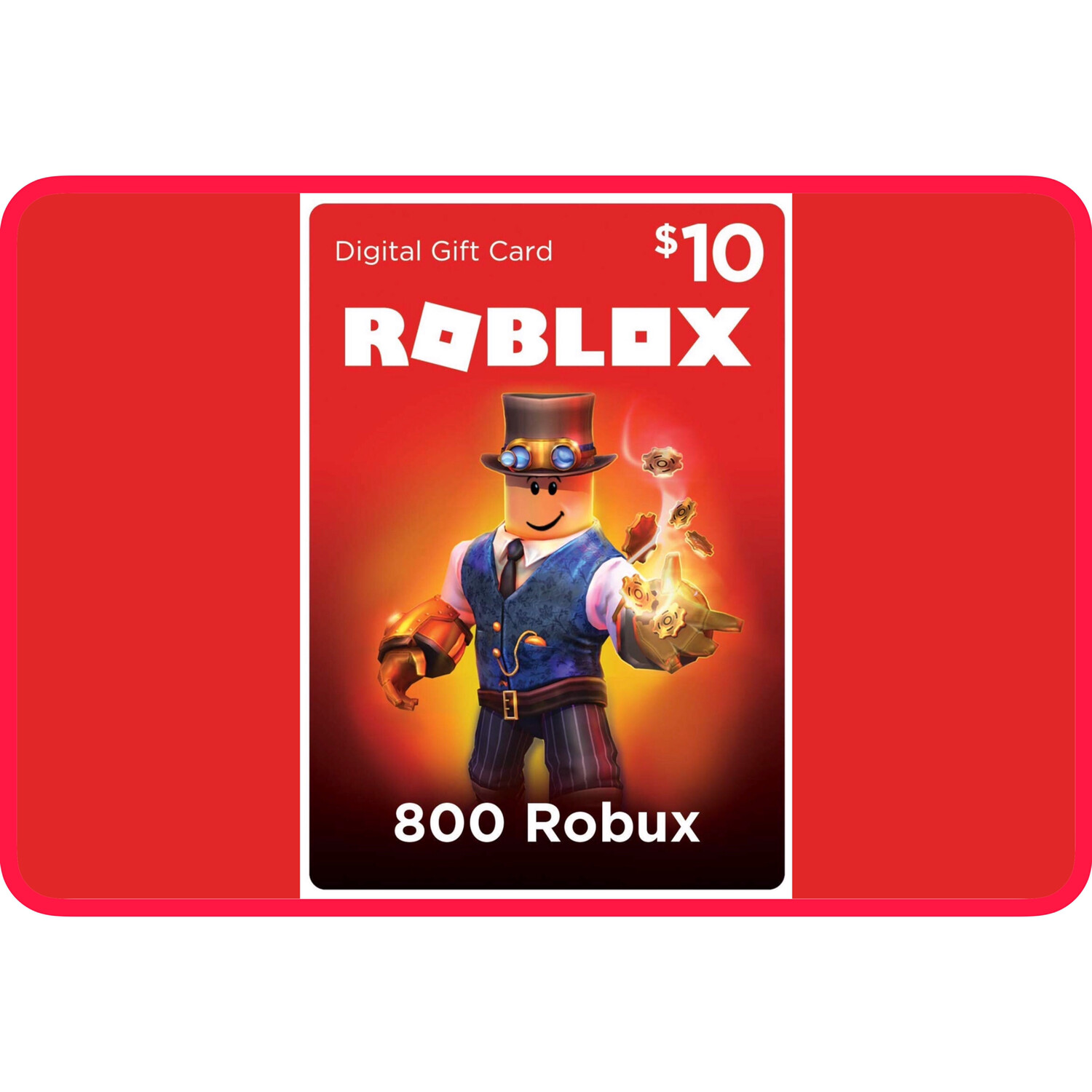 Roblox $10 Game Card (800 Robux)