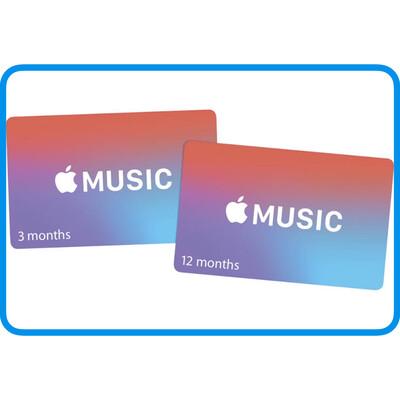 Apple Music Membership Gift Card