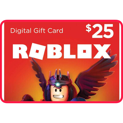 Roblox $25 Game Card (2000 Robux)