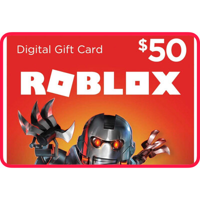Roblox $50 Game Card (4500 Robux)