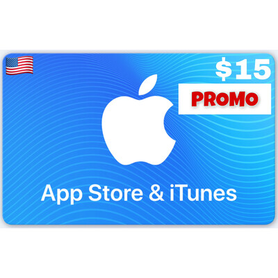 PROMO Apple iTunes Gift Card US $15