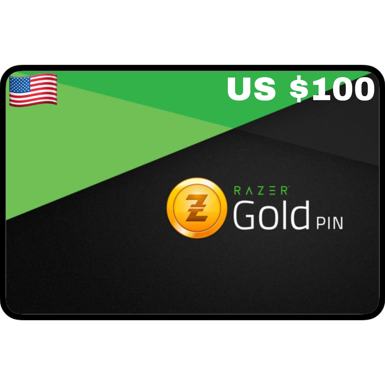 Razer Gold Pin US $100