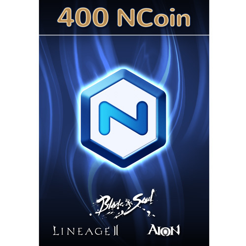 NCSOFT NCoin 400 [Online Game Code]