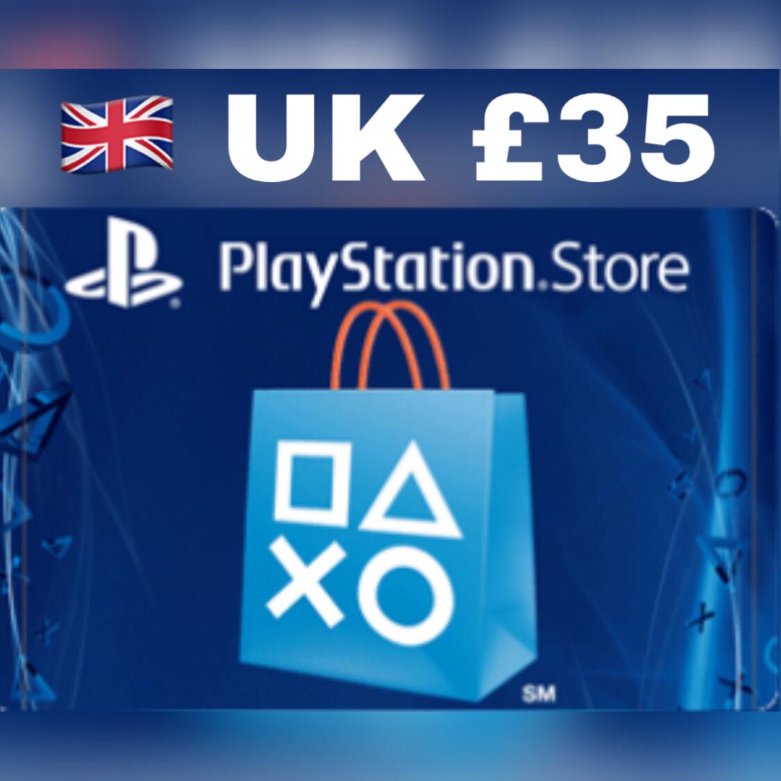 Playstation Network Card UK GBP 35