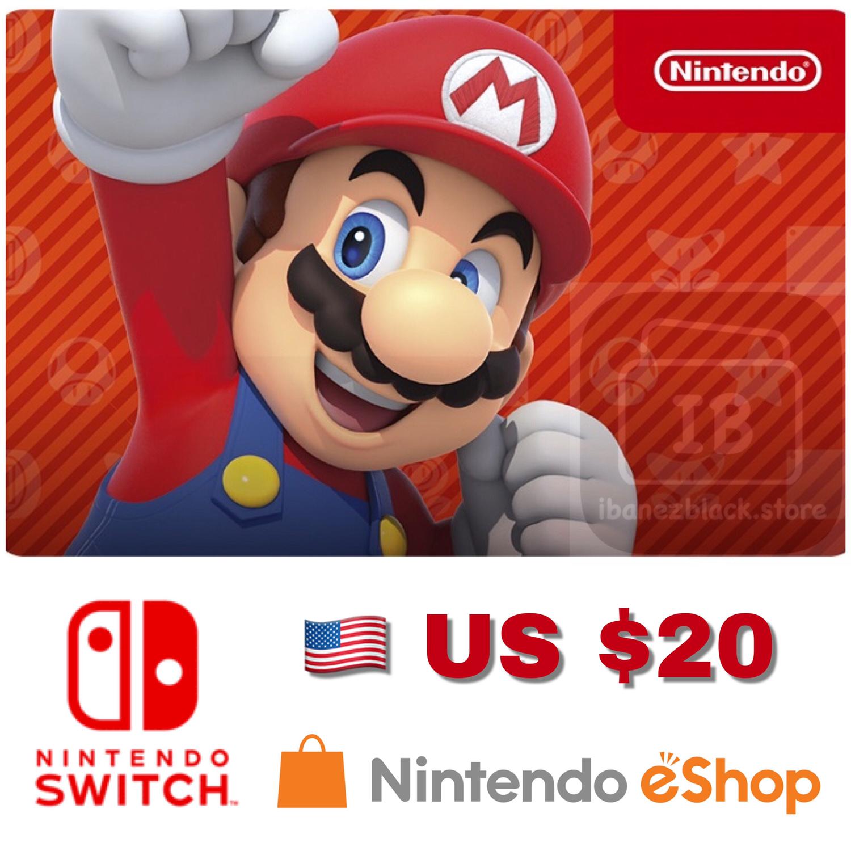 Nintendo eShop US $20