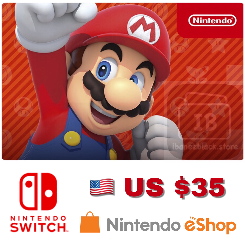 Nintendo eShop US $35