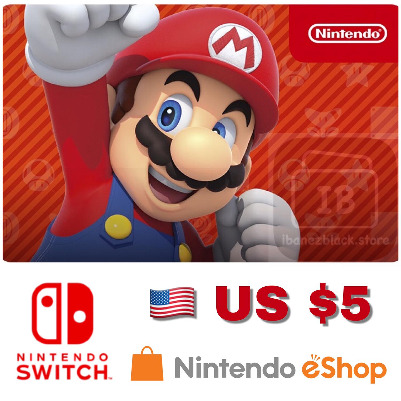 Nintendo eShop US $5