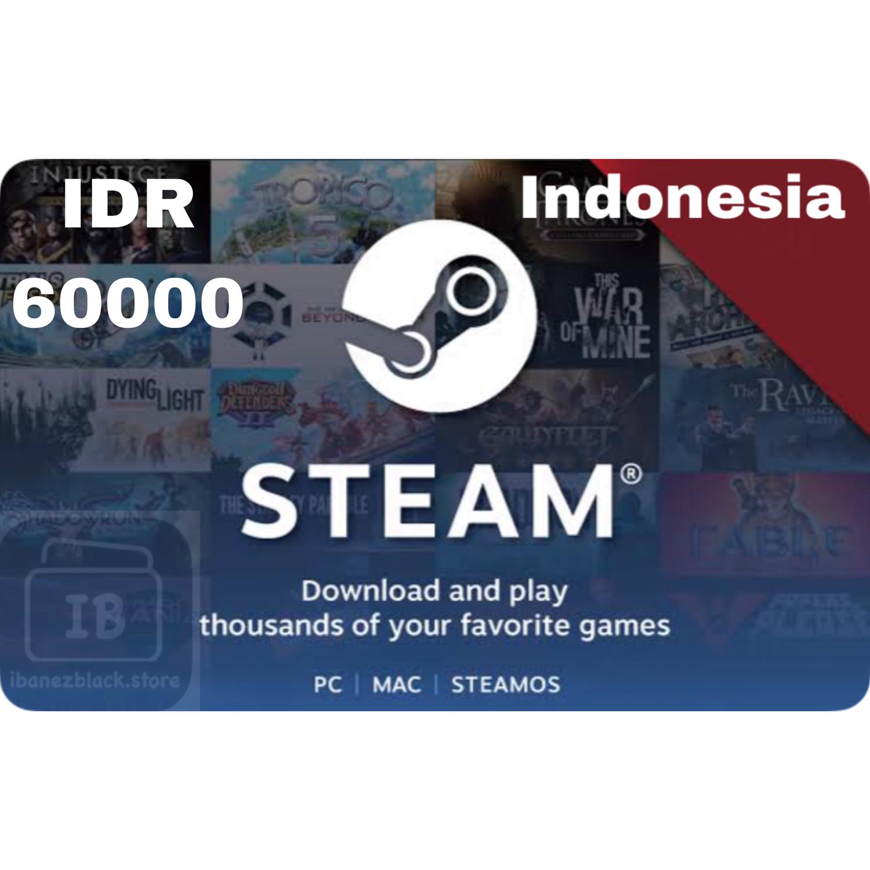 Steam Wallet Code indonesia 60ribu