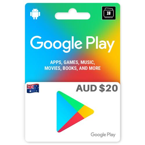 Google Play Gift Card Australia $20
