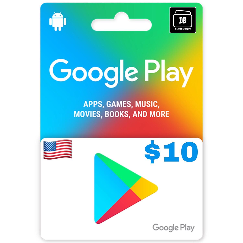 Google Play Gift Card US $10