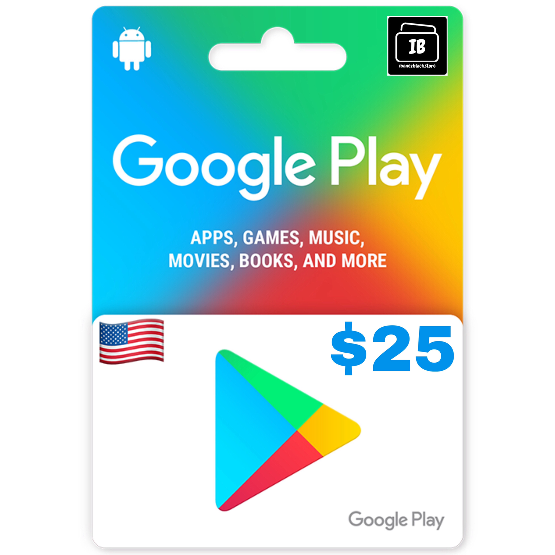 Google Play Gift Card US $25