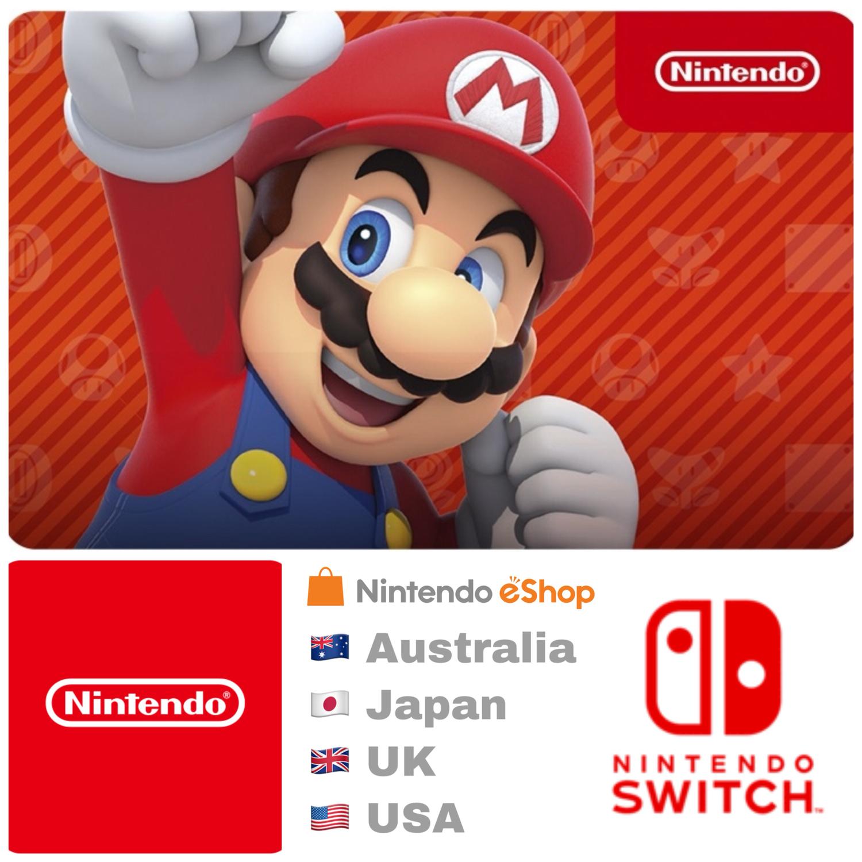 Nintendo eShop Prepaid Gift Card - Switch / Wii U / 3DS