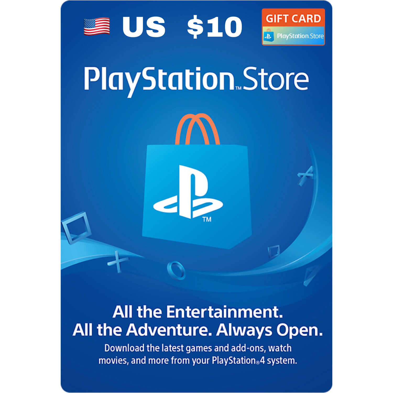 Playstation Network Card / PSN Card US $10