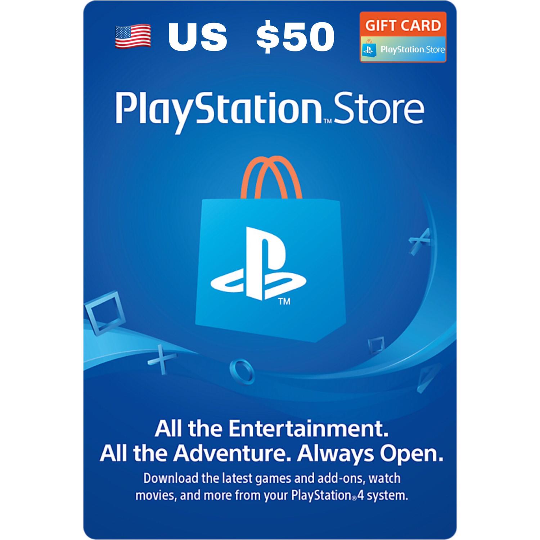 Playstation Network Card / PSN Card US $50