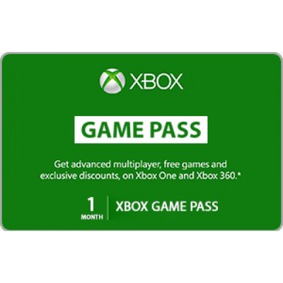 Xbox Game Pass 1 Month Trial Membership