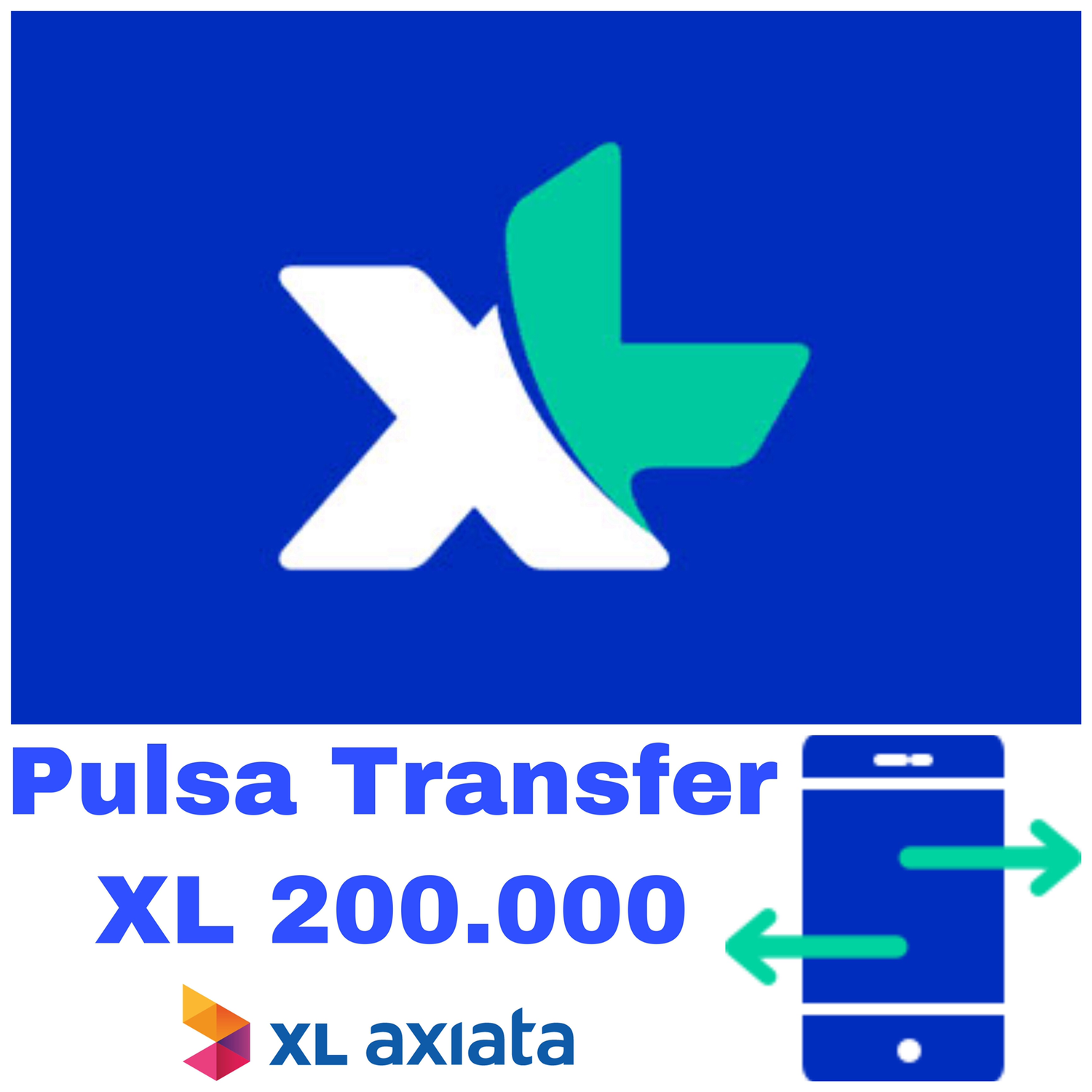 Pulsa Transfer XL 200.000