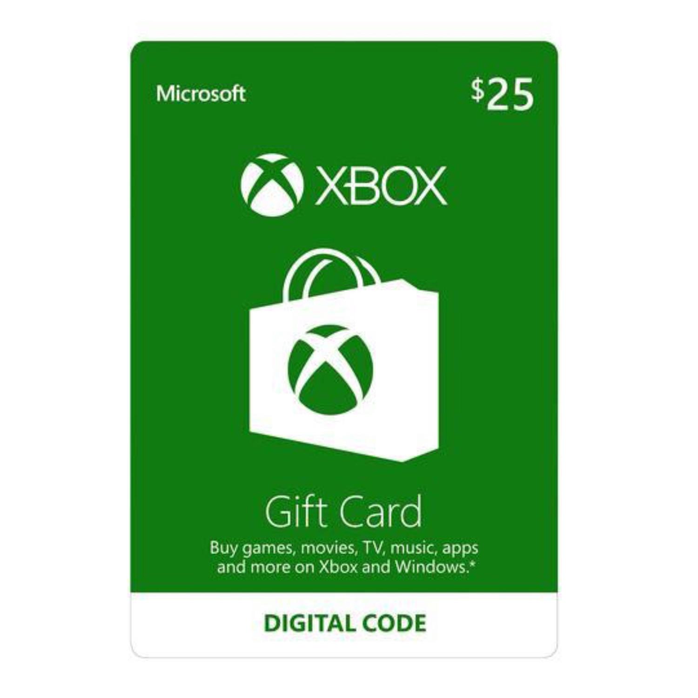 Xbox Gift Card US $25