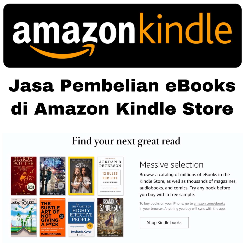 Jasa Amazon Kindle Store