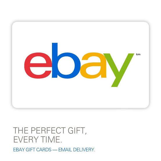 Ebay Gift Card US $100