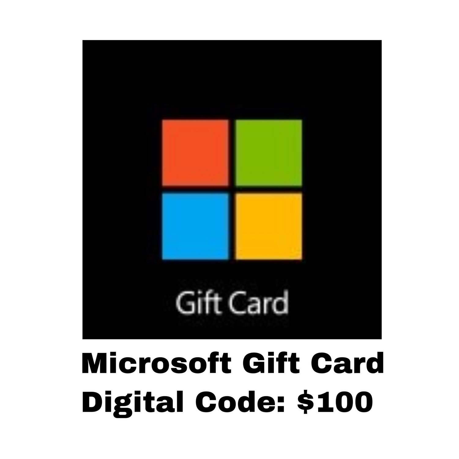 Microsoft Gift Card Digital Code: $100 - Windows / Xbox