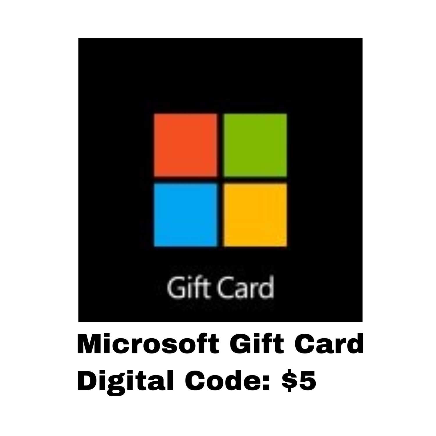 Microsoft Gift Card Digital Code: $5 - Windows / Xbox