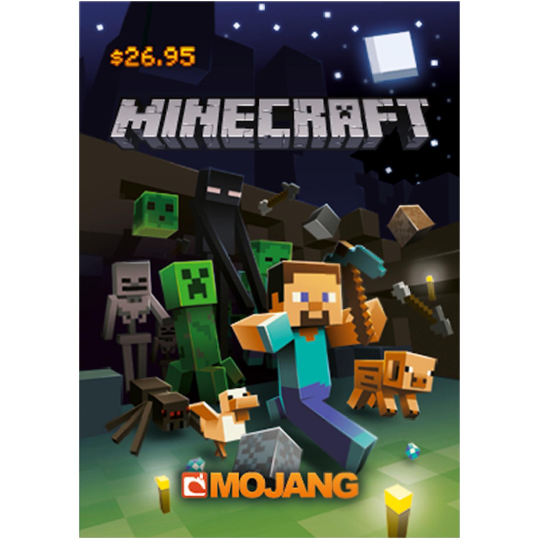 Minecraft Gift Card $26.95 (Global) - Mojang