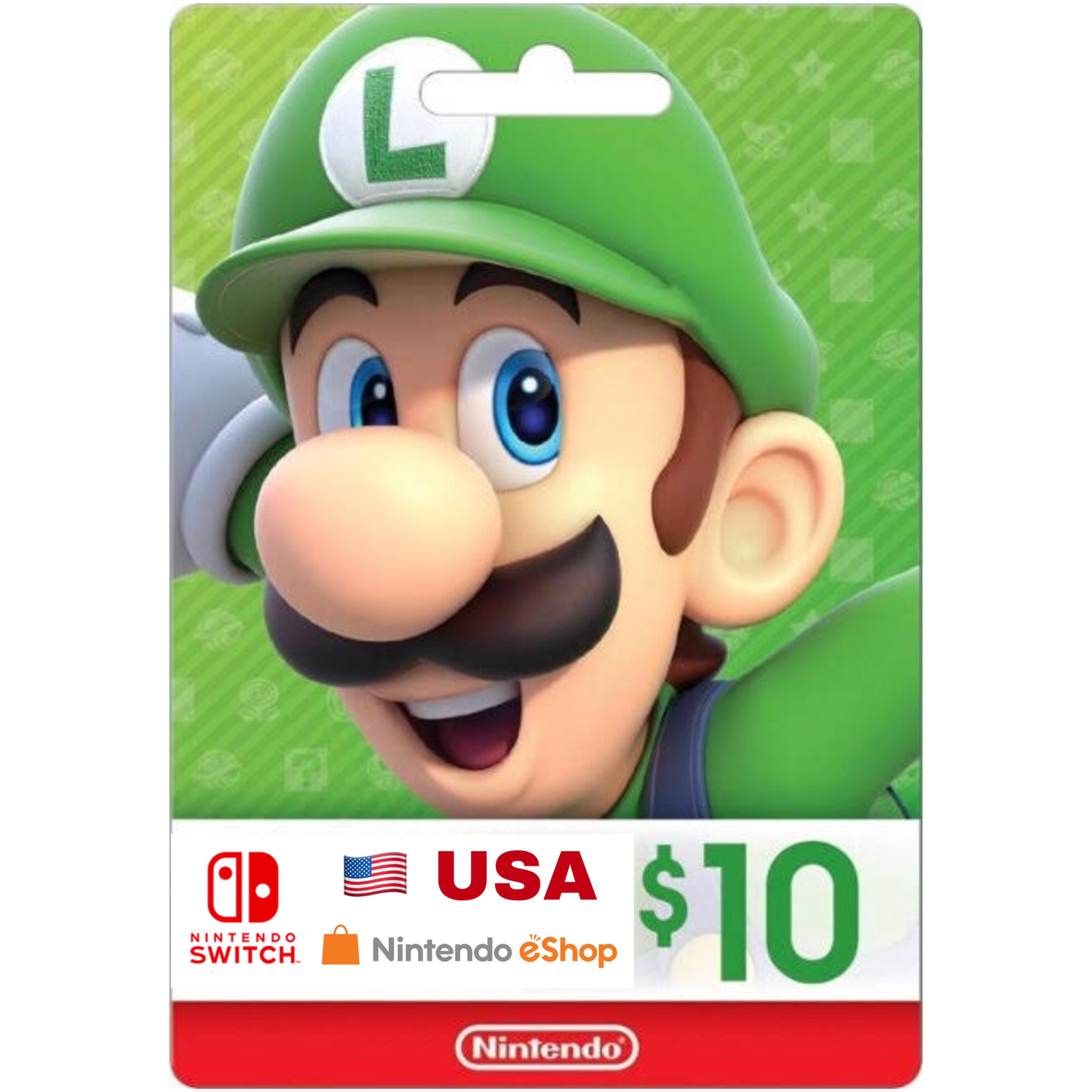Nintendo eShop Card US $10