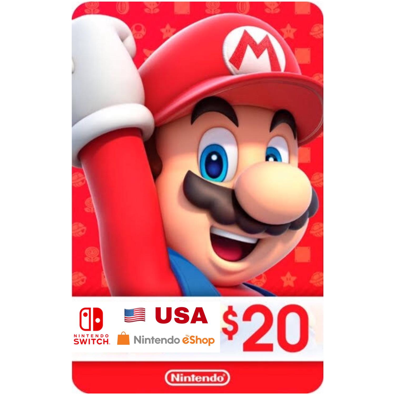 Nintendo eShop Card US $20