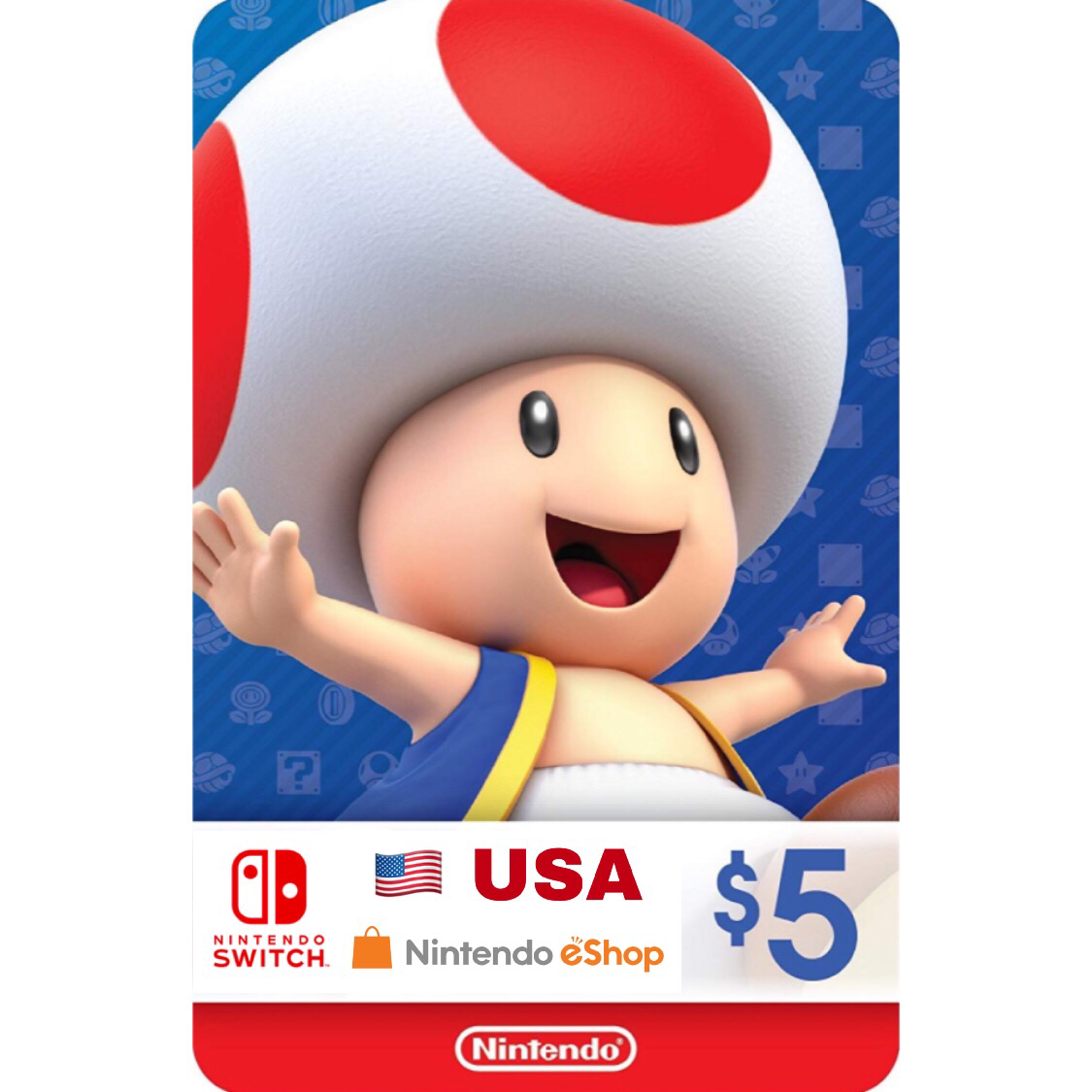 Nintendo eShop Card US $5