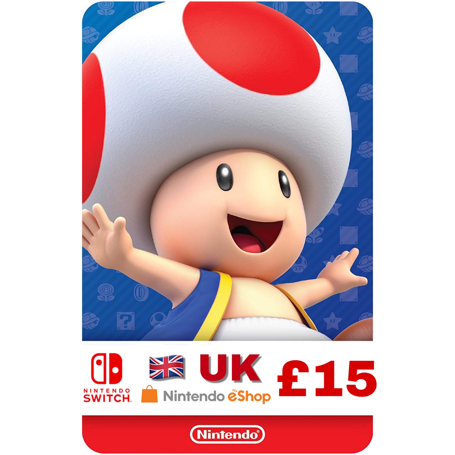 Nintendo eShop Card UK £15