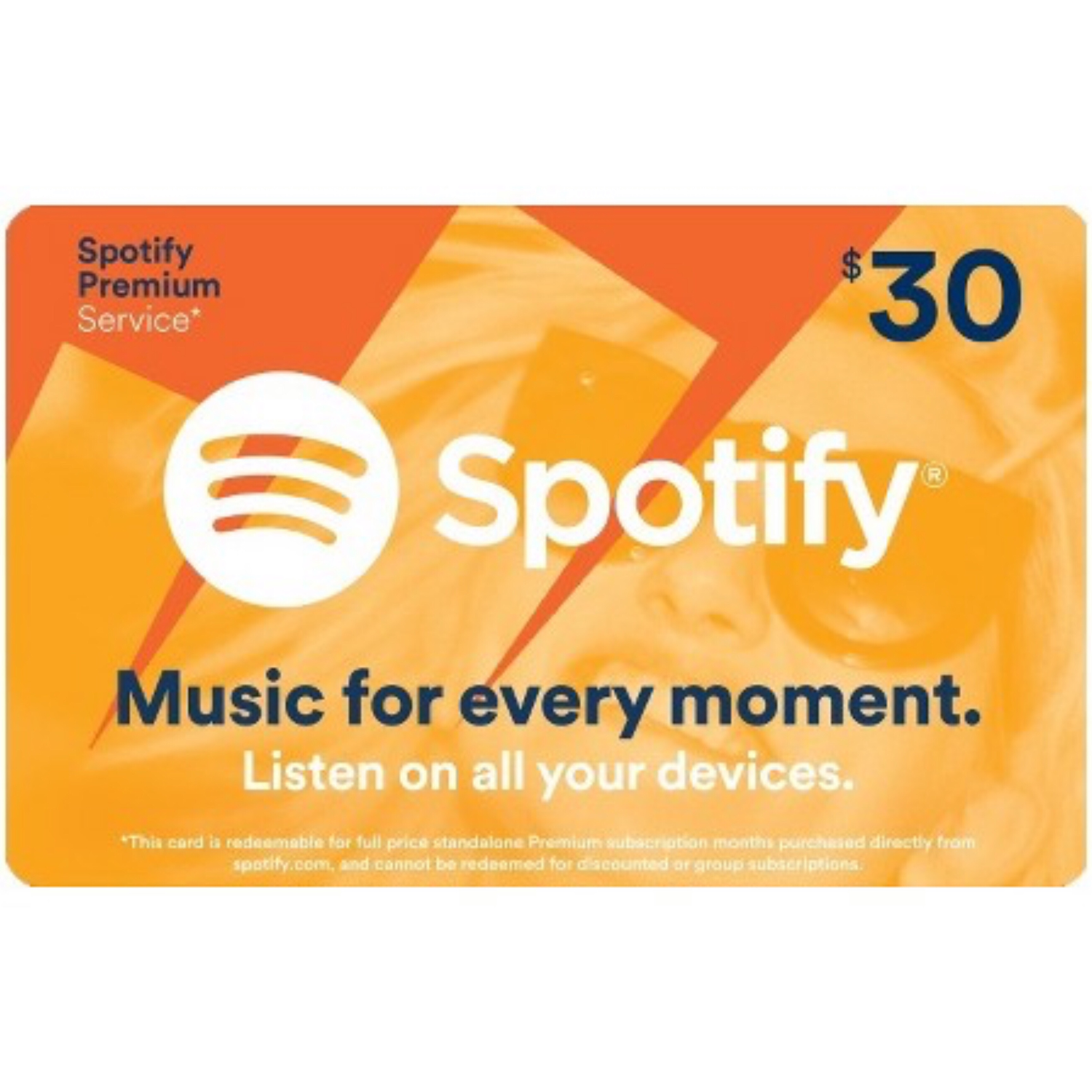 Spotify Gift Card US $30 / 3 Months Premium