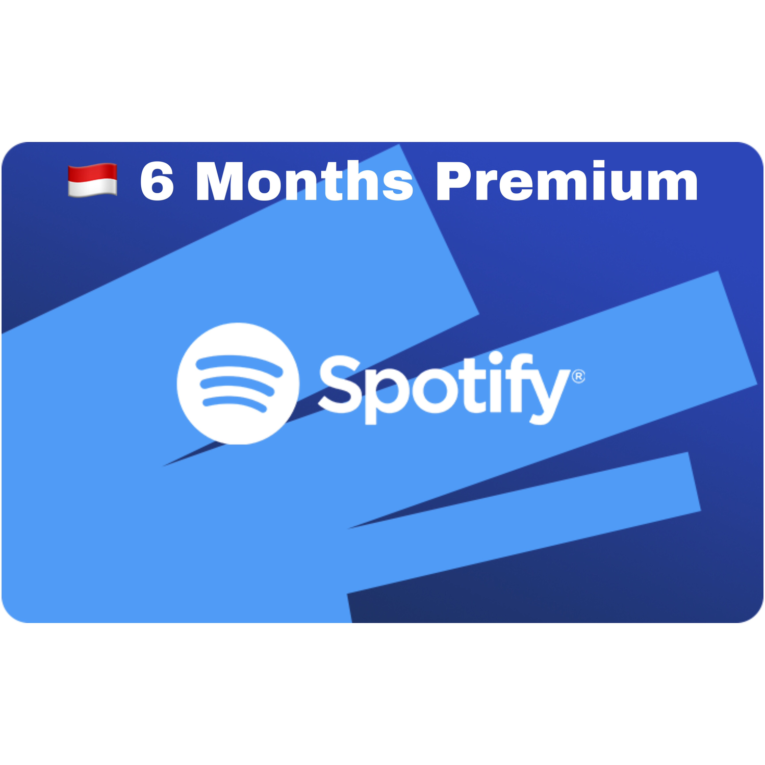 Spotify Gift Card Indonesia 6 Months Premium