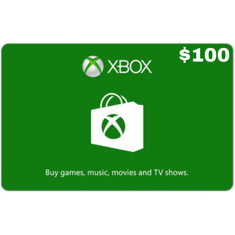 Xbox Gift Card US $100