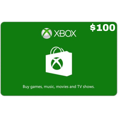 Xbox Gift Card USD $100