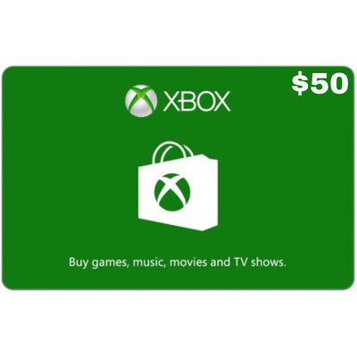 Xbox Gift Card USD $50