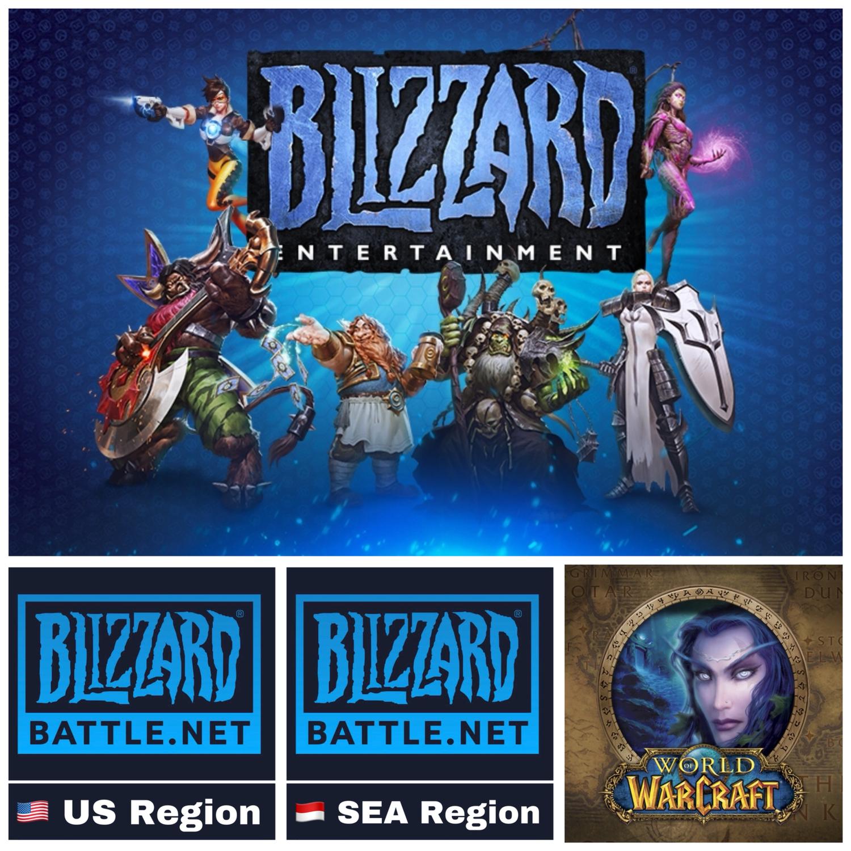 Blizzard Battle.net Gift Card, World of Warcraft