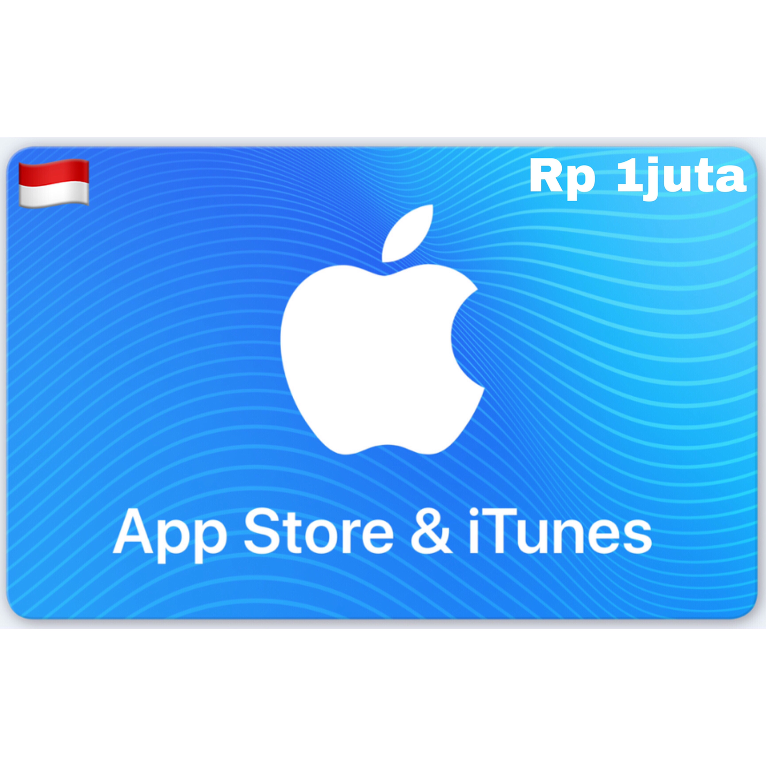 Apple App Store & iTunes Gift Card Indonesia 1.000.000