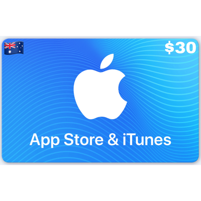 Apple App Store & iTunes Gift Card Australia $30